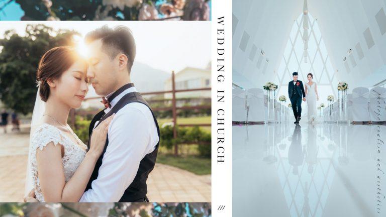 【近在咫尺,寫在天邊的約定】 | White Chapel Wedding Photography |海濱白教堂婚禮攝影
