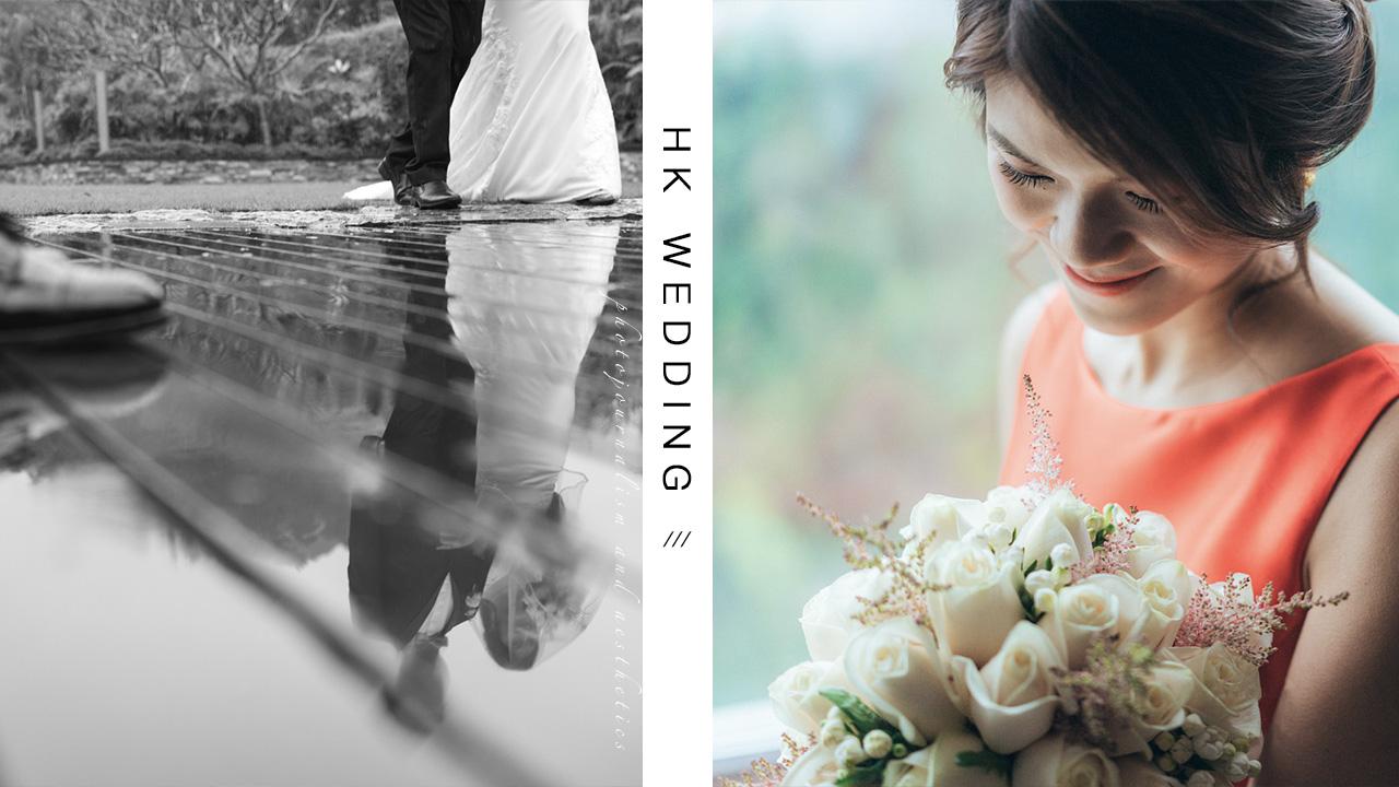 【對著雨點說「我願意」】| Wedding Photography | 婚禮攝影