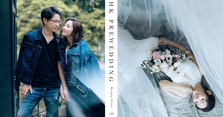 【閉上眼睛,漫遊芳野】 | HK Prewedding|香港婚紗攝影