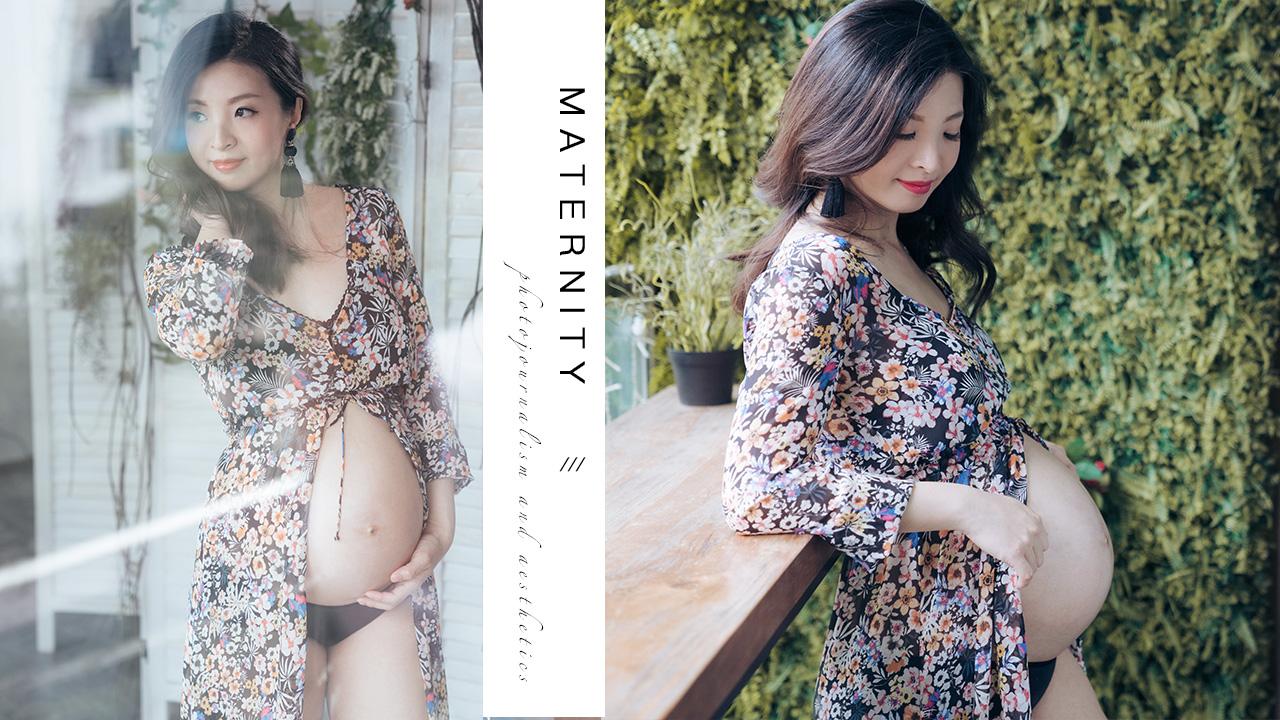【Floral Maternity】 | 孕婦相 | Pregnancy Photo