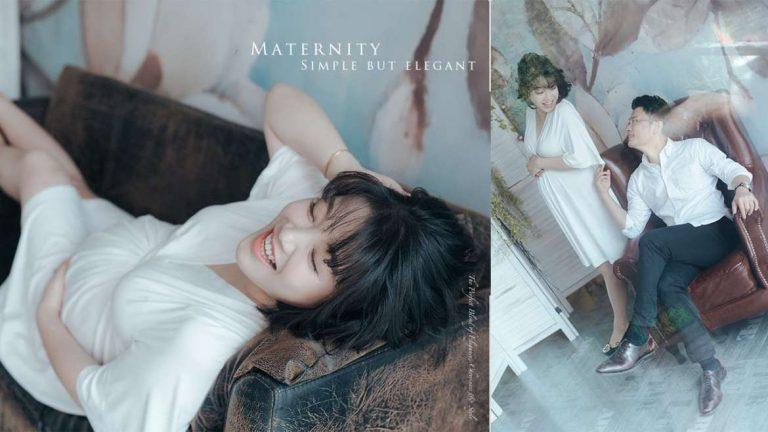 【簡約大肚照】 | Pregnancy Photography | 孕婦寫真