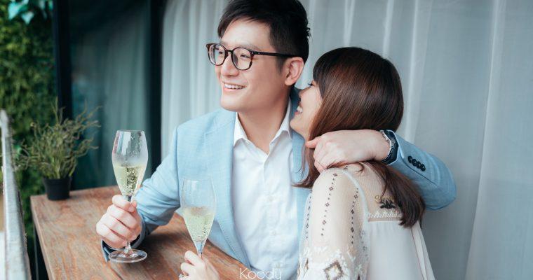 【TGIF,一起去喝兩杯吧】| Studio Prewedding | 室內婚紗攝影