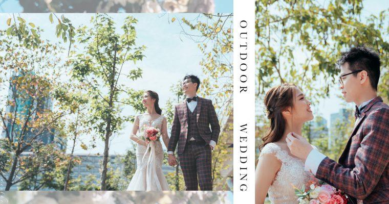 【不是因為天氣晴朗才愛你】| InterContinental Grand Stanford Wedding Photography | 嘉福洲際酒店婚禮攝影