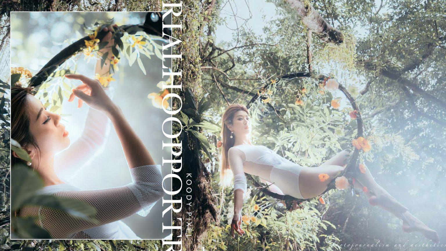 【與天空的距離】| Aerial Hoop Portrait | 空中呼拉圈攝影