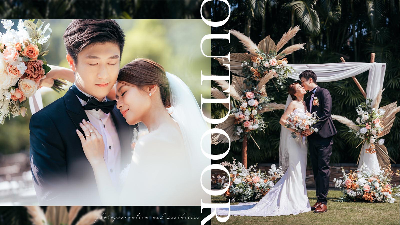 【藏不住的囍悅】|Outdoor Ceremony Photography|沙田凱悅酒店戶外證婚