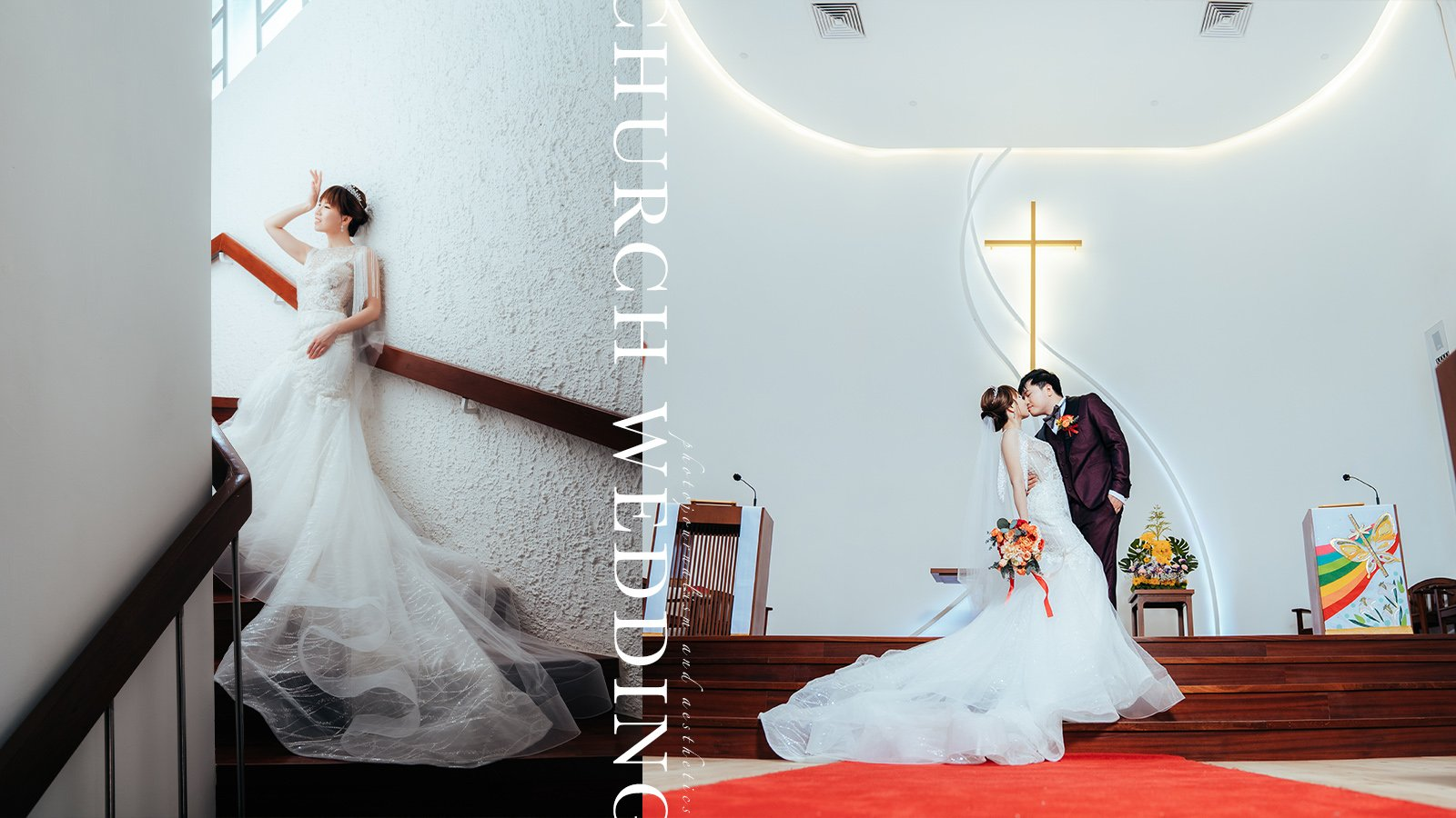 【Love is the Greatest Blessing】  Hsin En Lutheran Church Wedding Photography  信恩堂婚禮攝影